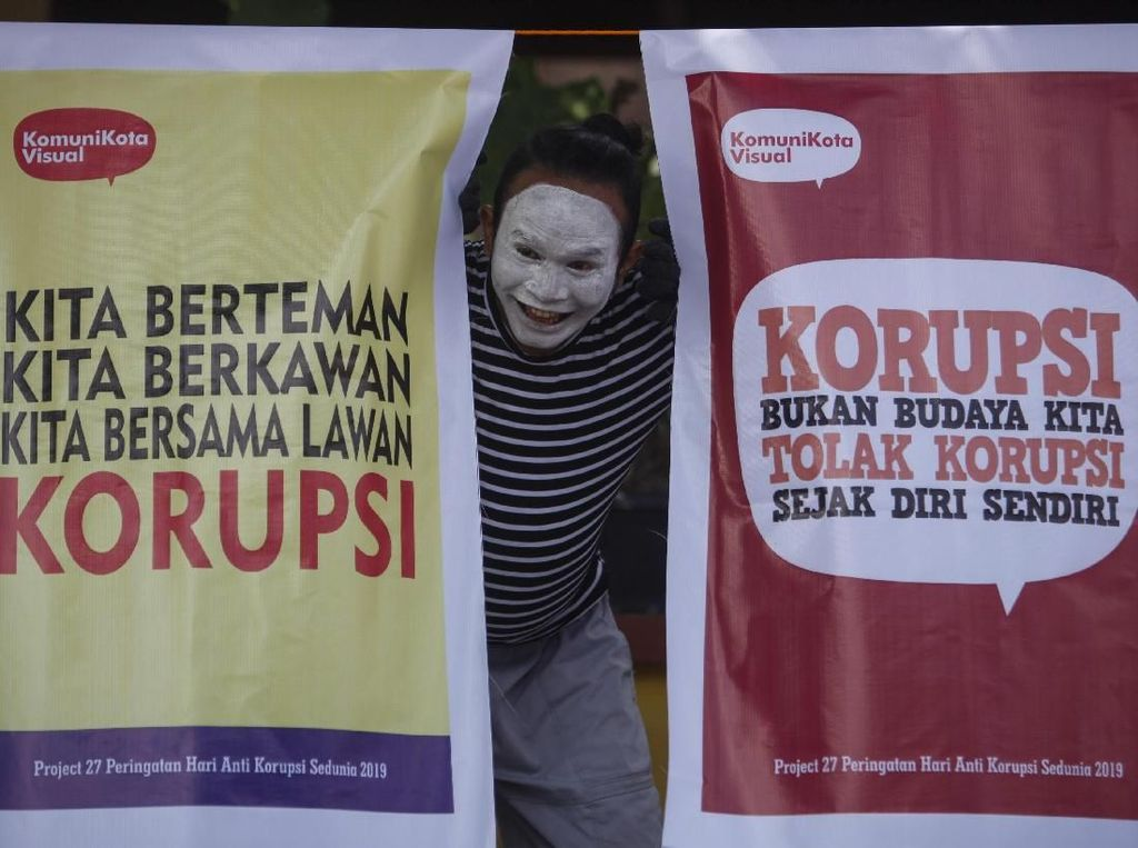 Potret Peringatan Hari Antikorupsi Sedunia di Indonesia