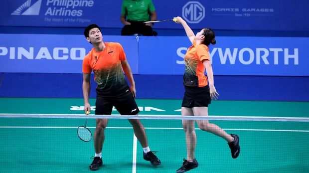 Pemain-pemain badminton Indonesia di SEA Games 2019.