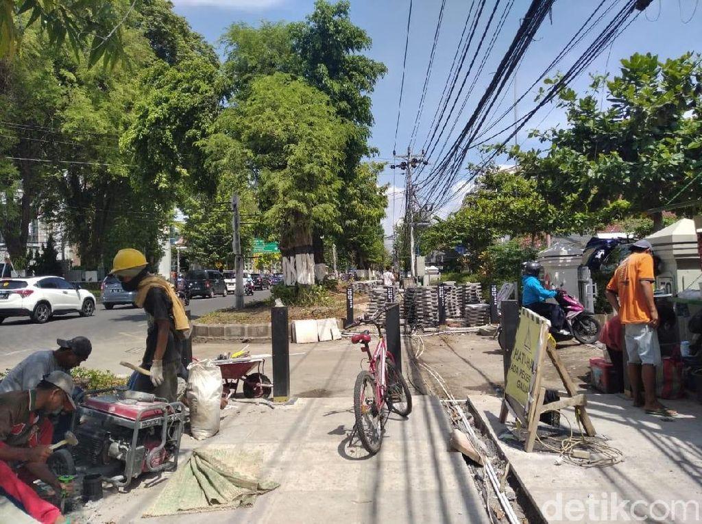Bye-bye, Kabel FO yang Gelantungan di Jalan Sudirman Yogya...