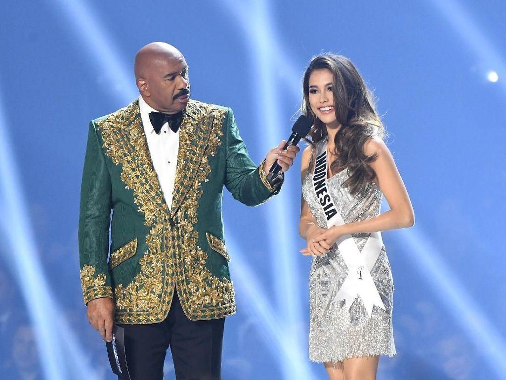 Terhenti di Top 10, Frederika Cull Gagal Masuk 5 Besar Miss Universe