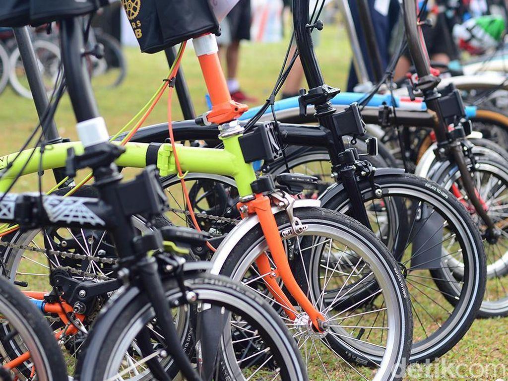 Diduga Tidak Ber-SNI, 5 Sepeda Brompton Disita Polisi