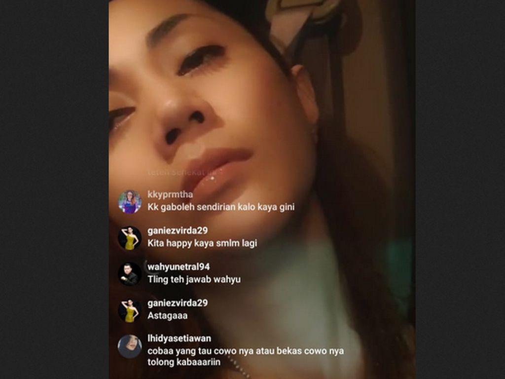 Aida Saskia Lakukan Percobaan Bunuh Diri saat Live Instagram