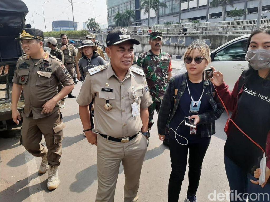 PKL di Trotoar Senen Digusur Mulai Hari Ini, Satpol PP Berjaga