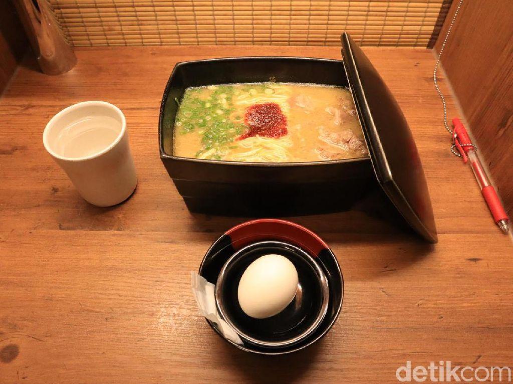 Nyam... Nikmatnya Ramen Halal Ichiran di Jepang