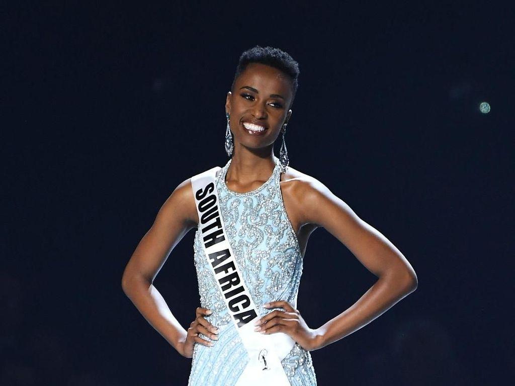 Miss Afrika Selatan Zozibini Tunzi Menang Miss Universe 2019