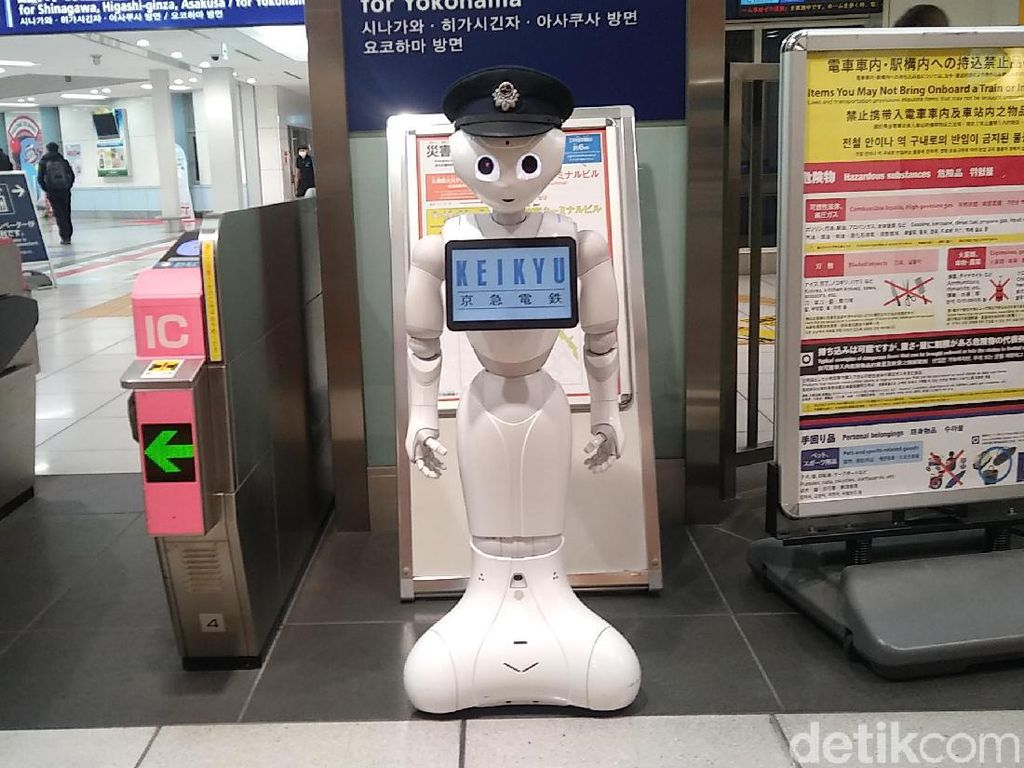 Inilah Keikyu, Robot Petugas Bandara di Jepang