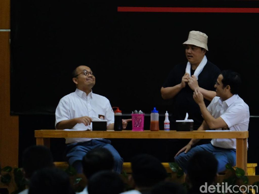 Tampil di Pentas Antikorupsi, Erick: Jangan Jadi Dirut Malah Nitip Barang
