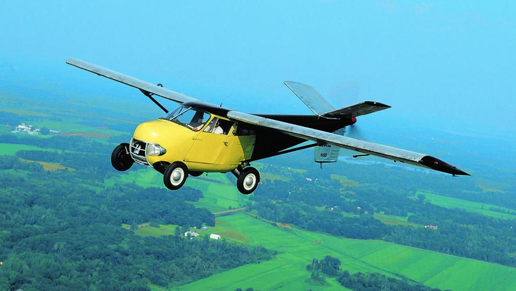 Mobil Terbang Pertama di Dunia Dilelang Rp 14 M