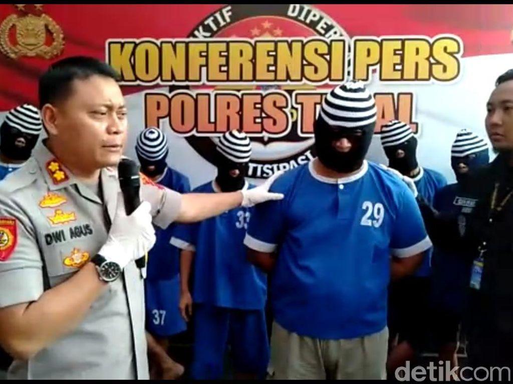 Polisi Tangkap Penggadai Belasan Mobil Rental di Tegal