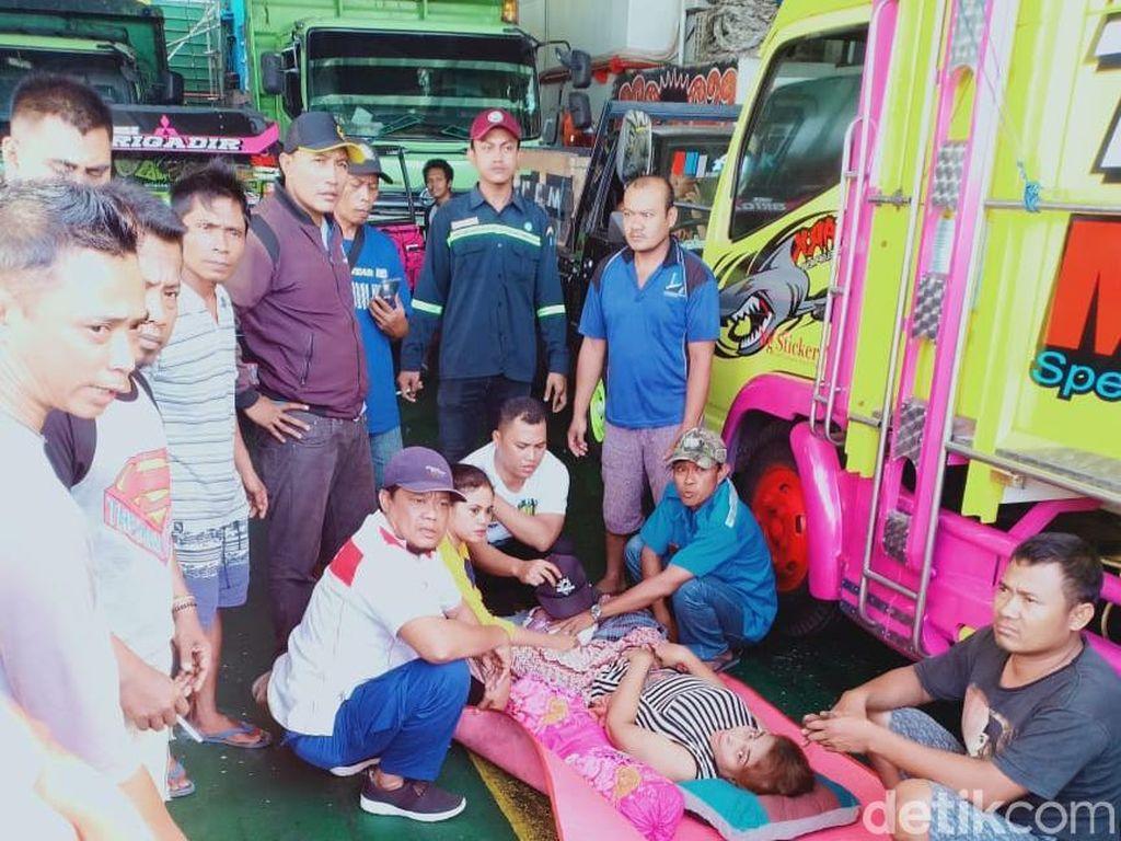 Viral Warga Surabaya Melahirkan di Kapal Penyeberangan Ketapang-Gilimanuk