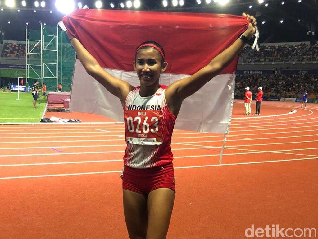Emilia Nova Persembahkan Emas ke-70 untuk Indonesia di SEA Games