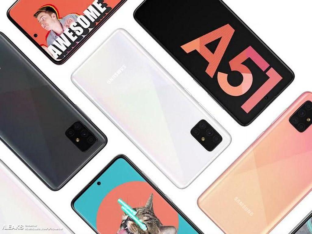 Harga Galaxy A51 Lebih Murah dari Pendahulunya