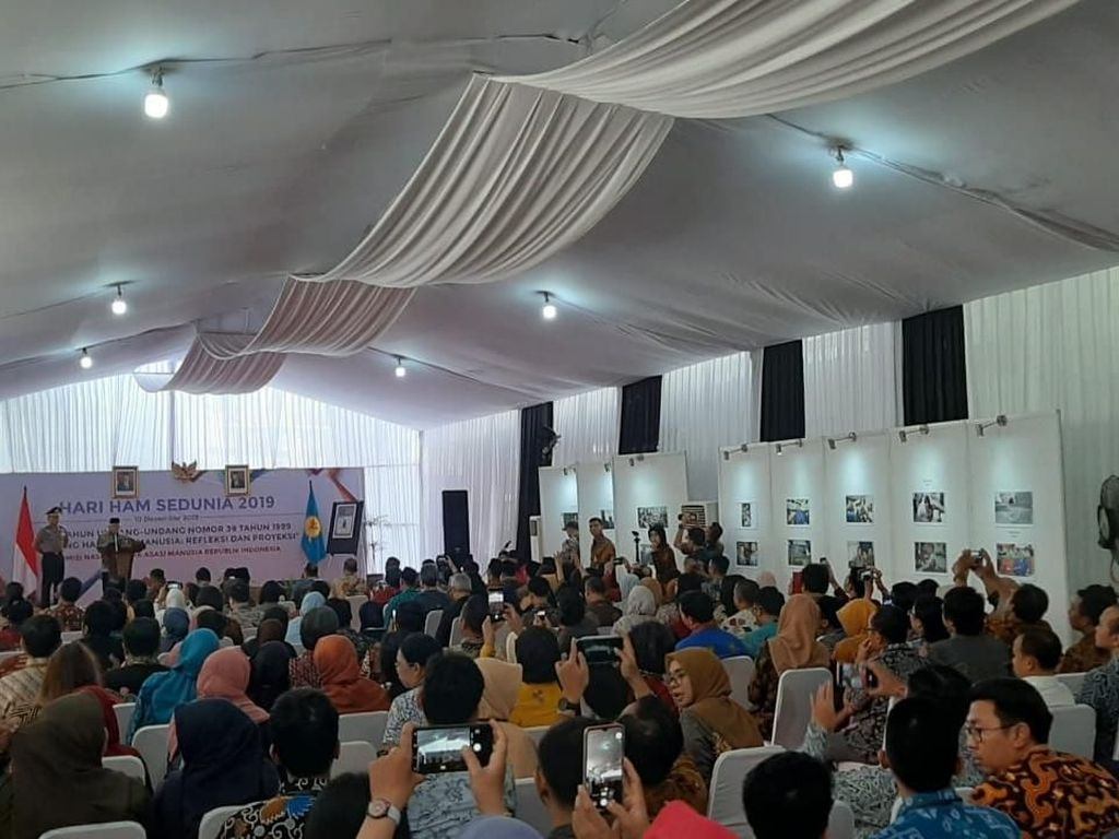 Hadiri Peringatan Hari HAM, Maruf Bicara Komitmen Tuntaskan Kasus HAM