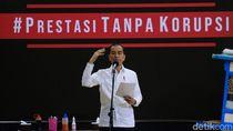 Jokowi Anggap Sporadis, KPK Menepis