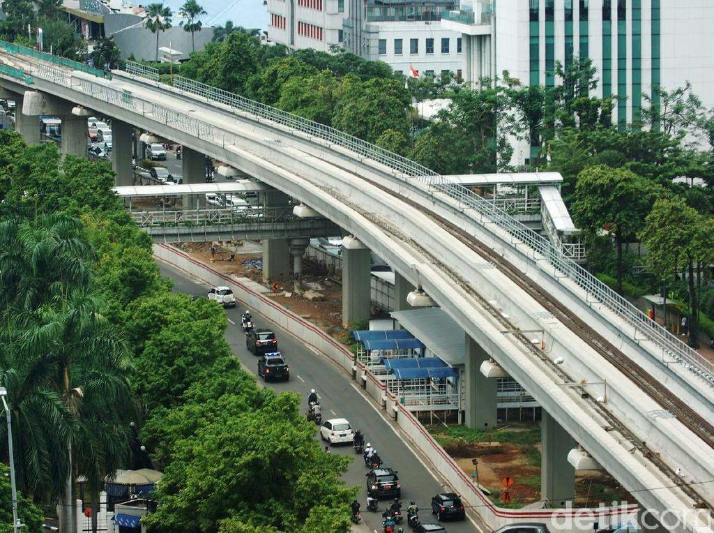 KAI Kucurkan Rp 4 T Bangun Depo LRT Jabodebek