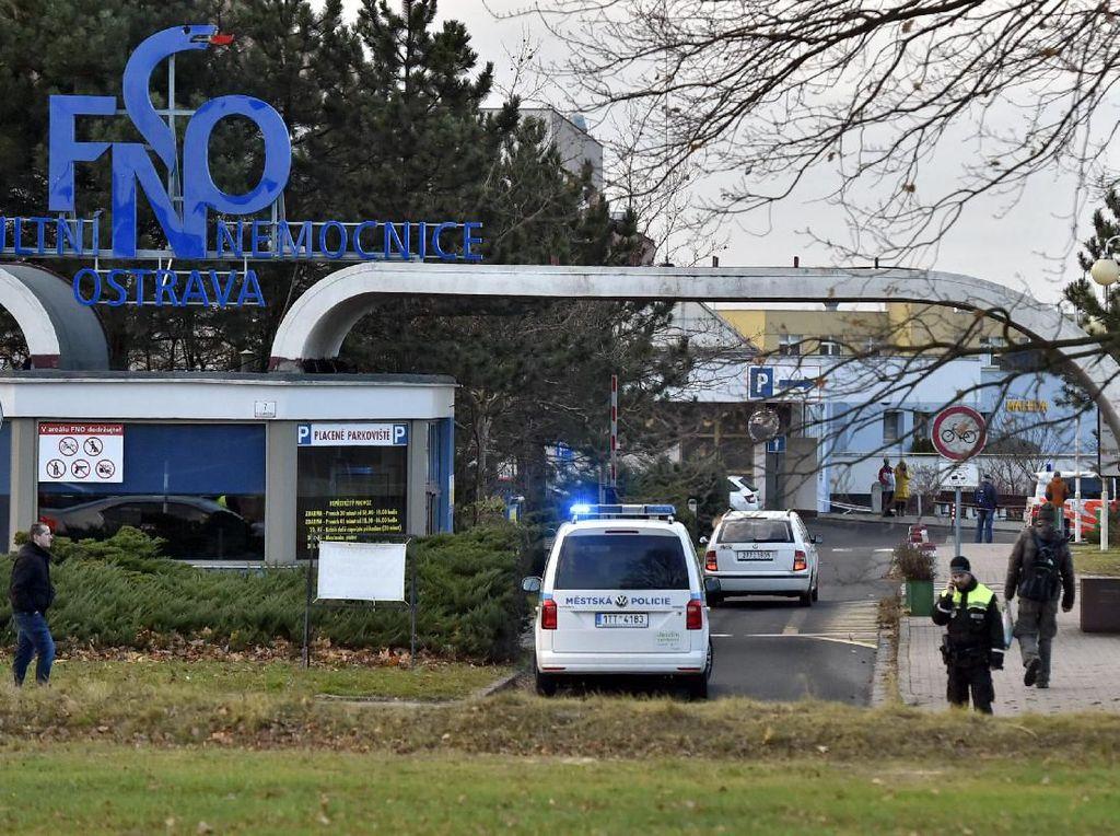 6 Orang Tewas dalam Penembakan Brutal di RS Ceko, Pelaku Kabur
