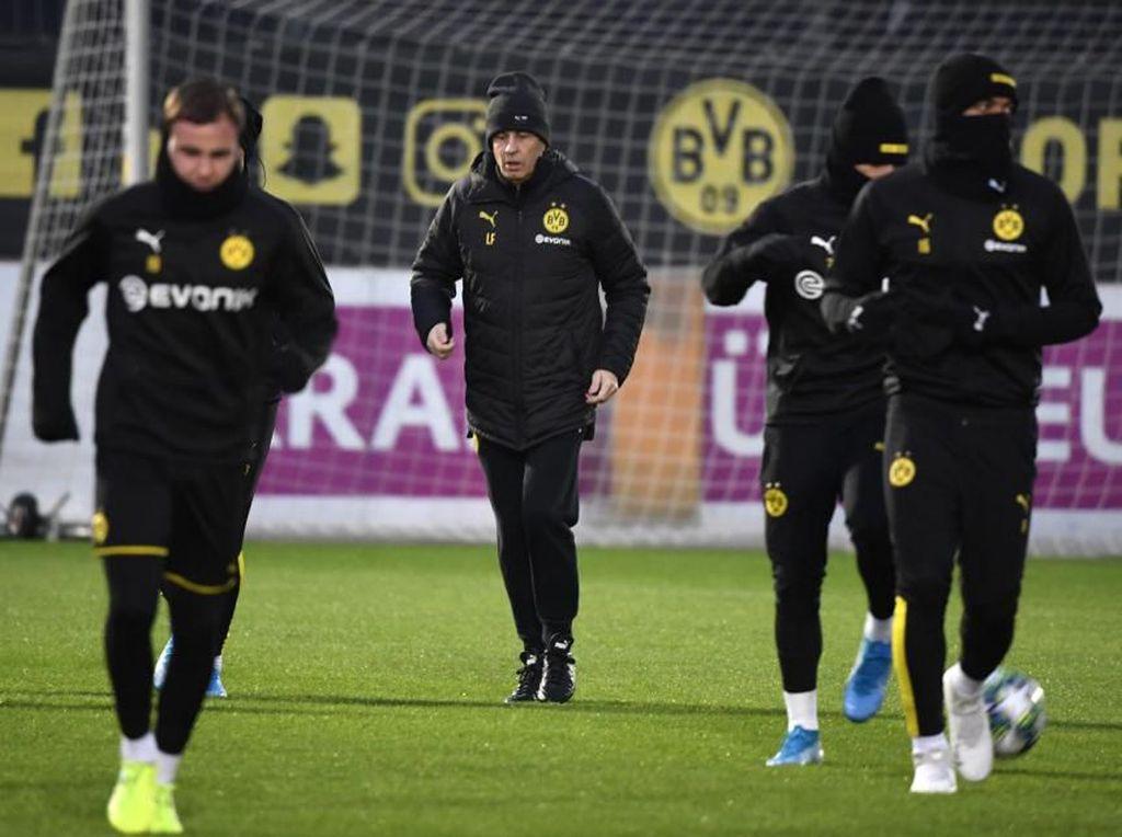Dortmund Fokus Cari Kemenangan Dulu, Hasil Inter vs Barca Pikir Belakangan