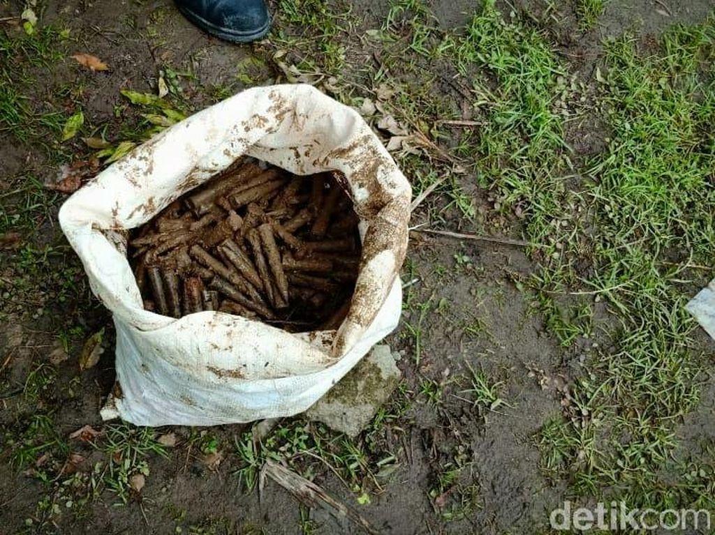 Ratusan Peluru Diduga Masih Aktif Ditemukan Warga Langkat Sumut