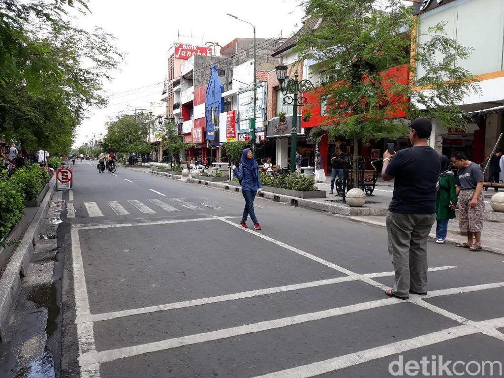 Uji Coba Semi Pedestrian Tak Sekadar Tutup Malioboro, Ini Target Dishub