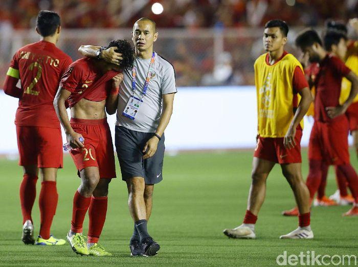 Timnas Indonesia U-22 harus meningkatkan beberapa aspek ini agar bisa lepas dari kutukan runner-up. (Foto: Grandyos Zafna/detikcom)
