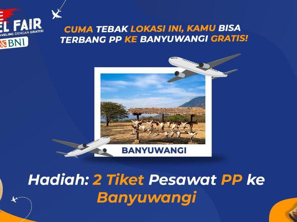 Mau Tiket Pesawat Gratis ke Banyuwangi? Tebak-tebakan Dulu Yuk