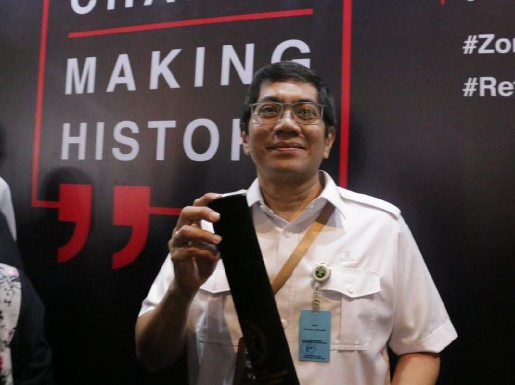 Direktorat Hak Cipta dan Desain Industri Kemenkum Raih Predikat WBK/WBBM