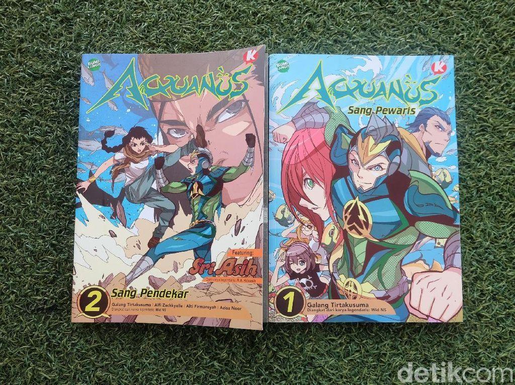 Aquanus Versi Revolusi Ambil 4 Elemen Termasuk Manga