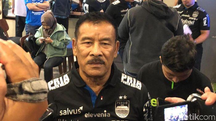 Umuh Muchtar menyarankan Persib Bandung mencoret Kevin van Kippersluis. (Foto: Mukhlis Dinilah/detikcom)