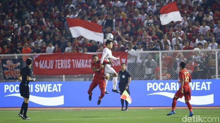 Timnas Indonesia U-22 gagal menyumbang emas di SEA Games 2019. (Foto: Grandyos Zafna/detikSport)