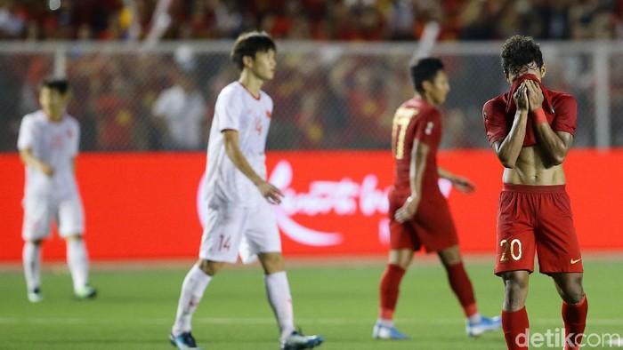 Timnas Indonesia U-22 berpuasa emas di SEA Games lebih lama. (Foto: Grandyos Zafna/detikcom)