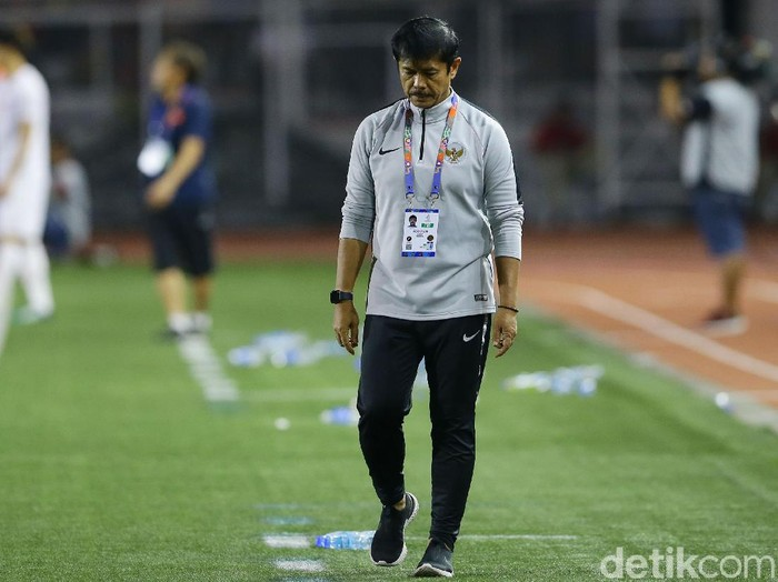 Indra Sjafri, pelatih Timnas Indonesia U-22 di final SEA Games 2019 Filipina