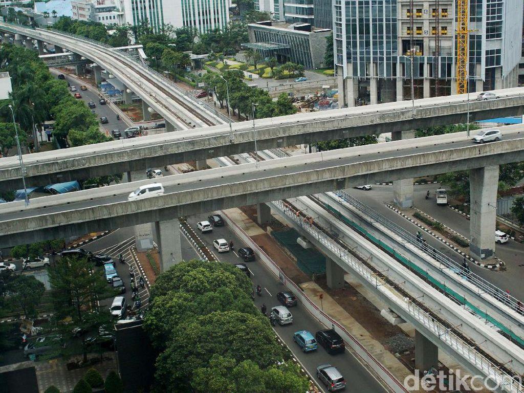 Mantap! LRT Jabodebek Sudah Diuji Coba