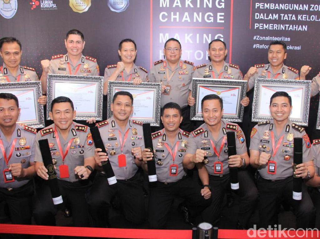 Polres Jajaran Polda Jatim Borong WBBM & WBK Terbanyak Se Indonesia