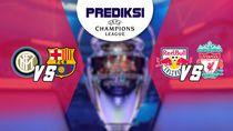 Prediksi Liga Champions Inter Vs Barca dan Salzburg Vs Liverpool