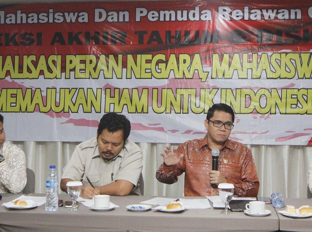 Diskusi Peringatan Hari HAM Bareng Mahasiswa dan Pemuda