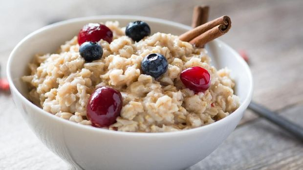 ilustrasi oatmeal