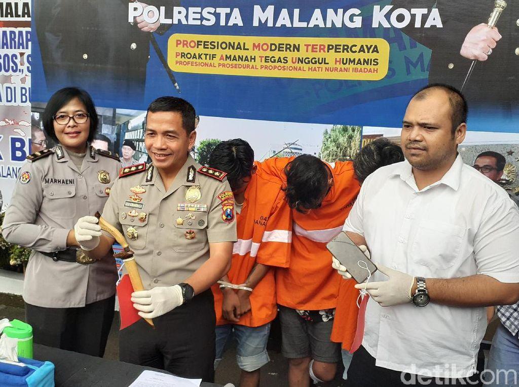 Komplotan Begal Sadis di Malang Diringkus, 1 Pelaku Nyungsep Ditembak