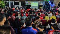 Ratusan Warga Probolinggo Nobar Final SEA Games 2019 di Rumah Kapolres