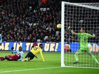Gol Ogbonna Buat Arsenal Tertinggal dari West Ham di Babak I