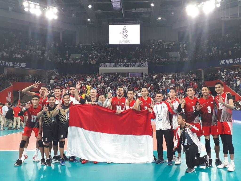 Setelah 10 Tahun, Emas Voli Putra SEA Games Jadi Milik Indonesia Lagi