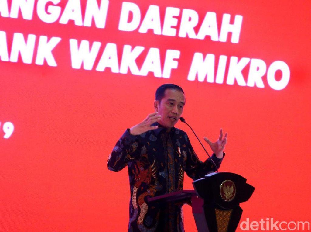 Resmikan Bank Wakaf Mikro, Jokowi: Jangan Pinjam ke Rentenir