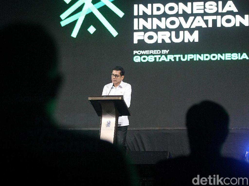 Menparekraf Hadiri Indonesia Innovation Forum 2019