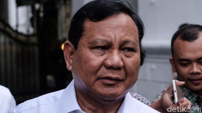 Foto: Prabowo Subianto (Andhika-detikcom)