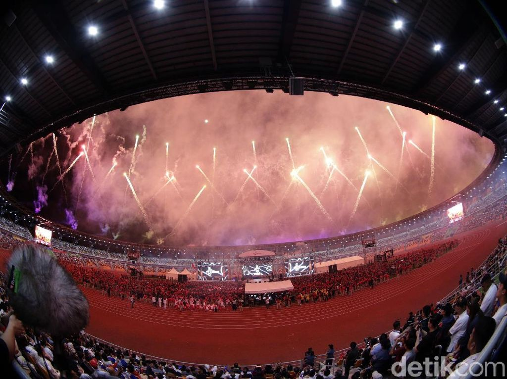 Pesta Kembang Api Tutup SEA Games 2019