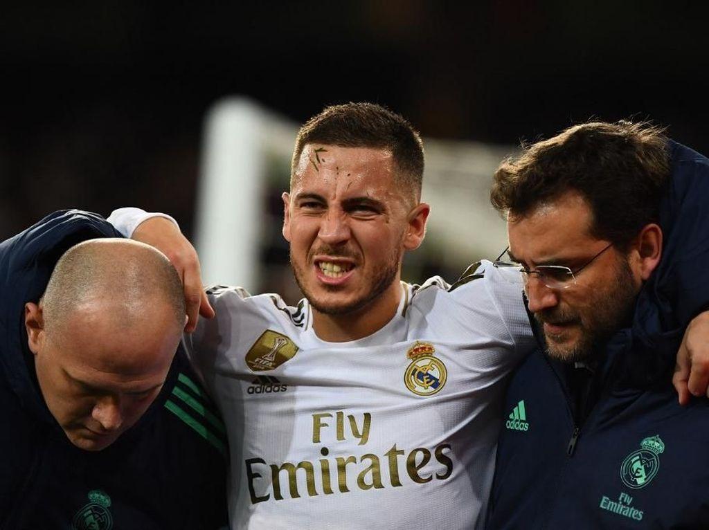 Eden Hazard Dilanggar Tiap 23 Menit Sekali Musim Ini
