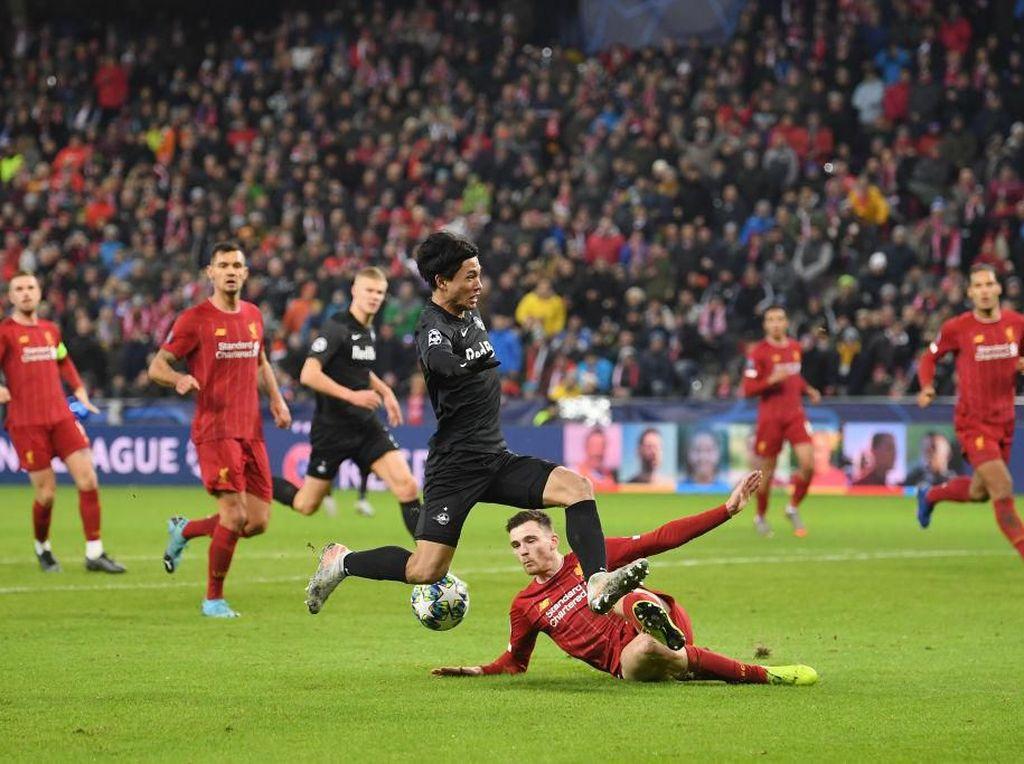 Salzburg Vs Liverpool Masih Tanpa Gol di Babak Pertama