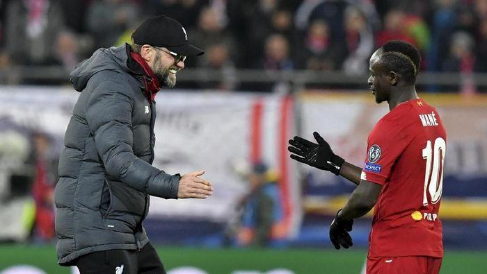 Juergen Klopp menilai Liverpool harusnya bisa menang besar atas Salzburg (Kerstin Joensson/AP Photo)