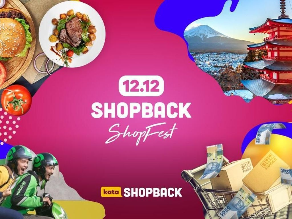 Rayakan Festival 12.12 di Aplikasi Ini, Dapatkan Cashback hingga 100%