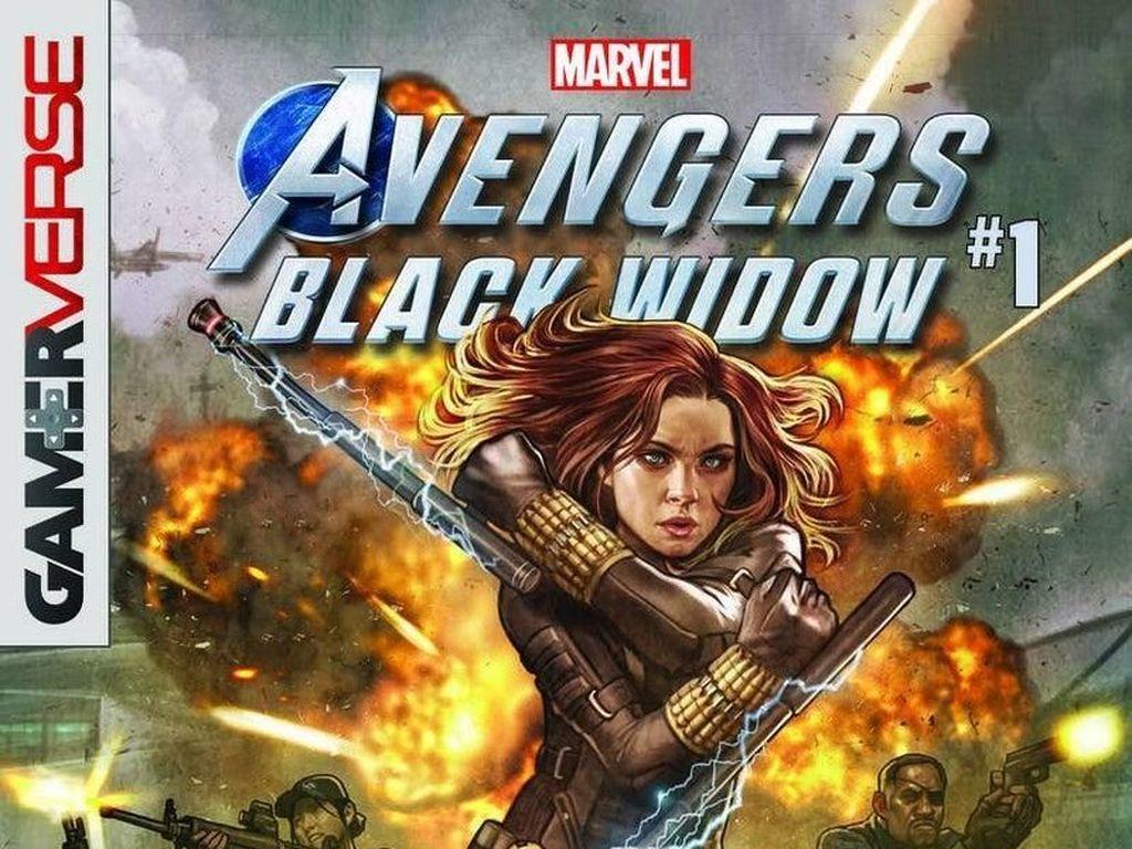Setelah Iron Man dan Hulk, Prekuel Komik Black Widow Segera Hadir