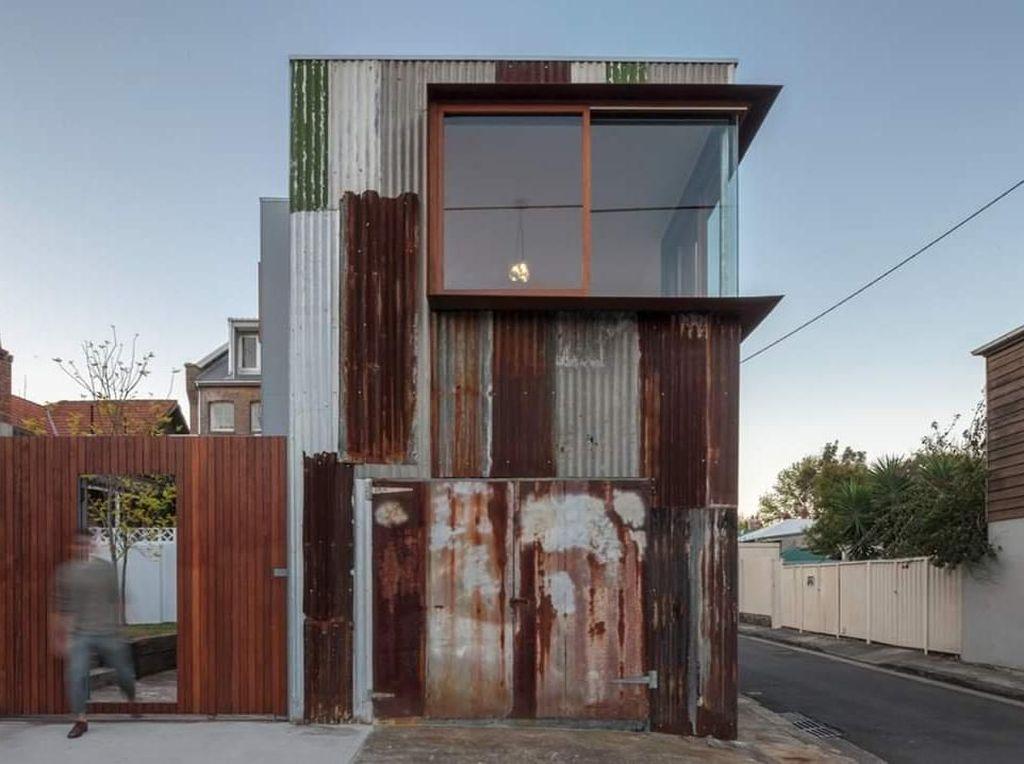 Viral Desain Rumah dari Seng Rongsokan, Bagian Dalamnya Bikin Takjub